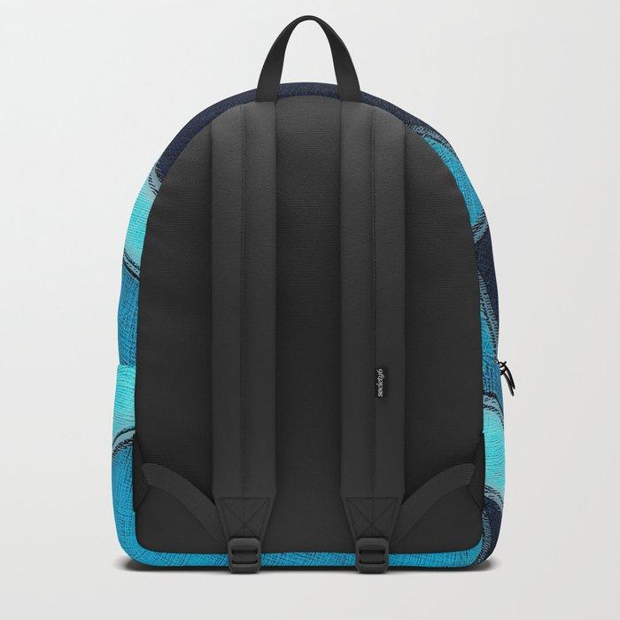 Denim Sampler Backpack