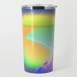 Iceberg A68 - Ultraviolet Satin Travel Mug