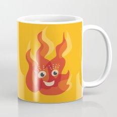 Happy Burning Cartoon Fire Mug