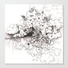 Ghost Crops Canvas Print