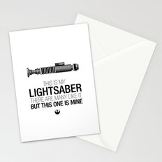 This is my Lightsaber (Luke Version) Stationery Cards