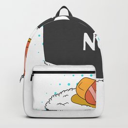 Sushi Rolls Not Gender Roles Equality Sushi And Rice Backpack