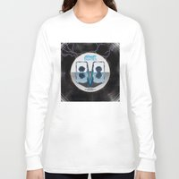80s Long Sleeve T-shirts featuring Future 80s by Nikola Kolobaric