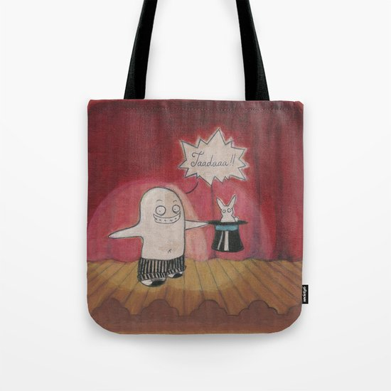 Make Believe Magician Tote Bag