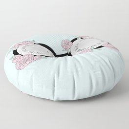 The Optimistic Point Of View Floor Pillow