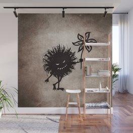 Evil Bug Gives Flower Wall Mural