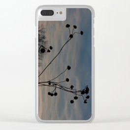 Hurry on Sundown Clear iPhone Case