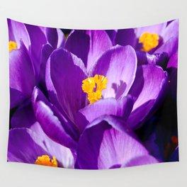 Purple sea Wall Tapestry