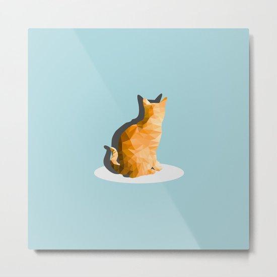 back cat Metal Print