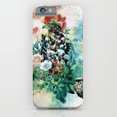Bird in Flowers Slim Case iPhone 6s