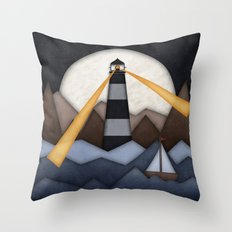 Show Me The Way To Go Home. Throw Pillow