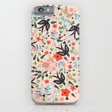 Around The Garden on Pink iPhone 6s Slim Case