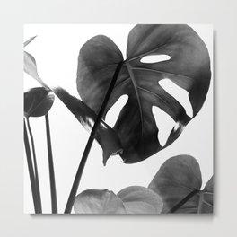 Monstera Vibes #2 #minimal #decor #art #society6 Metal Print
