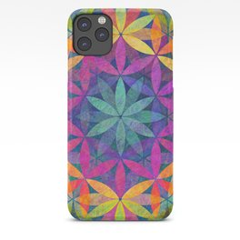 The Flower of Life variation iPhone Case