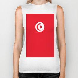 flag of tunisia -tunisie, tunisian,tunis,Maghreb. Biker Tank