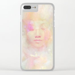 Positive visualization Clear iPhone Case