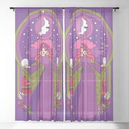 Moon Magic Sheer Curtain