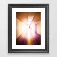 The Long Haul Framed Art Print