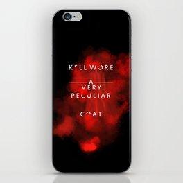 Kell wore a very peculiar coat  iPhone Skin