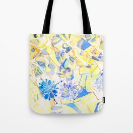 Mosaic of Barcelona III Tote Bag