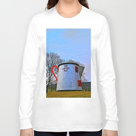 The Coffee Pot Long Sleeve T-shirt
