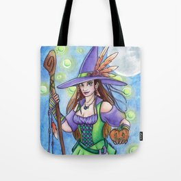 Witch Lights Tote Bag