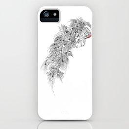 Peacock II iPhone Case