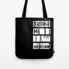 Ghost in the Machine (Inverted) Tote Bag