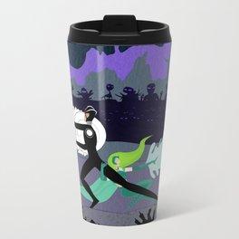 Power Couple Metal Travel Mug