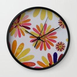 A garden in Cuenca Ecuador Wall Clock