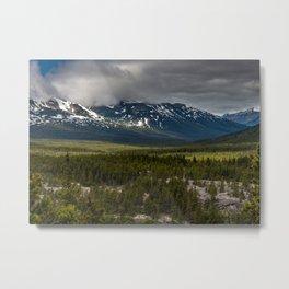 Yukon Wilderness Metal Print