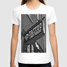 Tattoos Here T-shirt