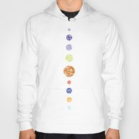 planets Hoodies featuring Planets by Dorothy Leigh