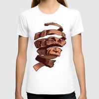 escher T-shirts featuring E=M.C. Escher by Tom Burns