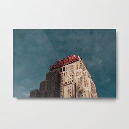 NEW YORKER BUILDING Metal Print