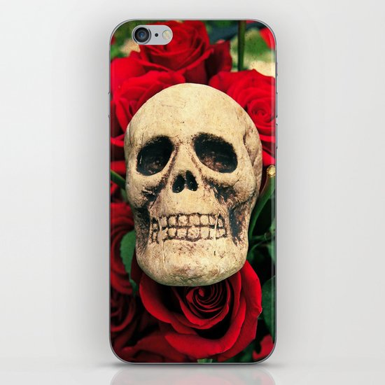 Love and death iPhone Skin