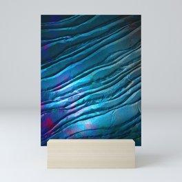 Flow in Blue Mini Art Print
