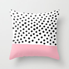 Conect the dots Throw Pillow