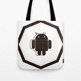 android oreo sticker dveloper console Tote Bag