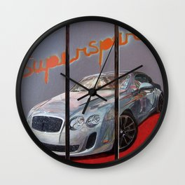 Supersports Wall Clock