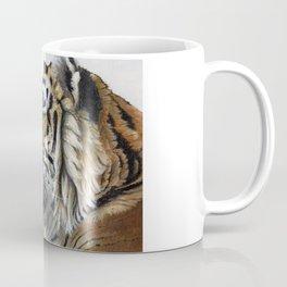 Tiger profile AQ1 Coffee Mug