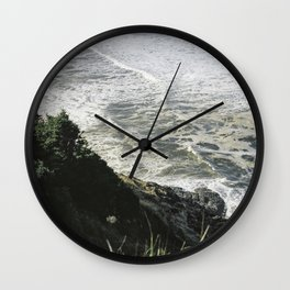 Of sea and foam Wall Clock