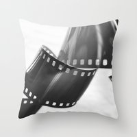 film Throw Pillows featuring Film by Taylor Murray