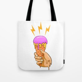 melting ice cream Tote Bag