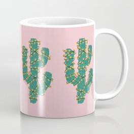 Cactus Lights Coffee Mug
