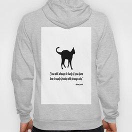 Ancient Cat Proverb Hoody