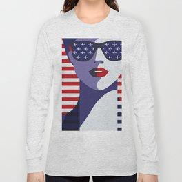 American Stewardess Long Sleeve T-shirt