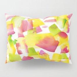 180719 Koh-I-Noor Watercolour Abstract 34| Watercolor Brush Strokes Pillow Sham