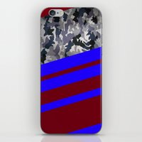 camo iPhone & iPod Skins featuring Camo by Fox Industries