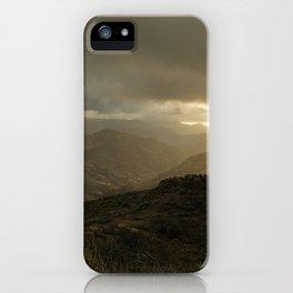 Canaria montana vista iPhone Case